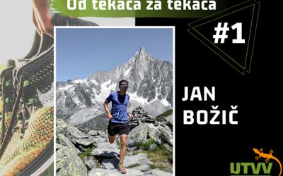 Od tekača za tekača – Jan Božič #1