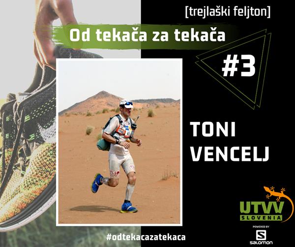 Od tekača za tekača – Toni Vencelj #3