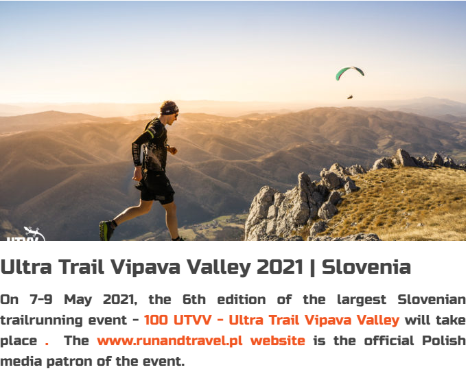 Run and Travel Poland o UTVV Slovenia 2021!